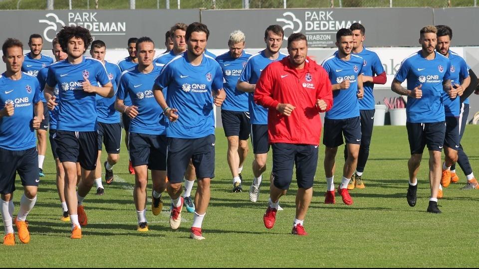 Trabzonspor, Karabükspor maçına hazırlanıyor!