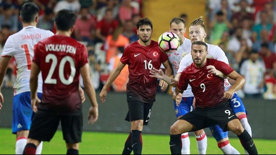 Rusya-Türkiye maçı, Arena CSKA'da oynanacak!