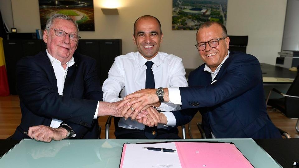 Belçika, Roberto Martinez ile nikah tazeledi