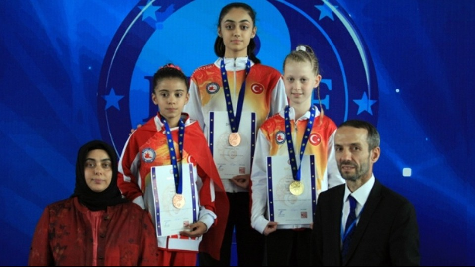 17. Avrupa Wushu Şampiyonası'nda altın madalya