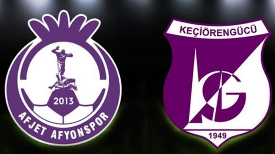 Afyonspor Keçiörengücü maçı canlı izle | Maç hangi kanalda?