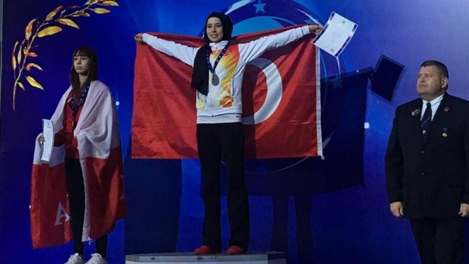 Hayriye Türksoy'dan büyük başarı