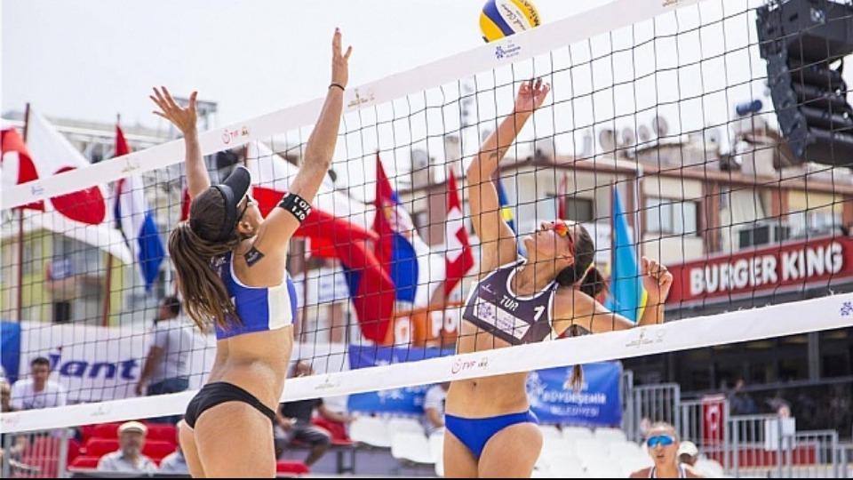 Plaj Voleybolu Dünya Turu'nda şampiyonlar belli oldu