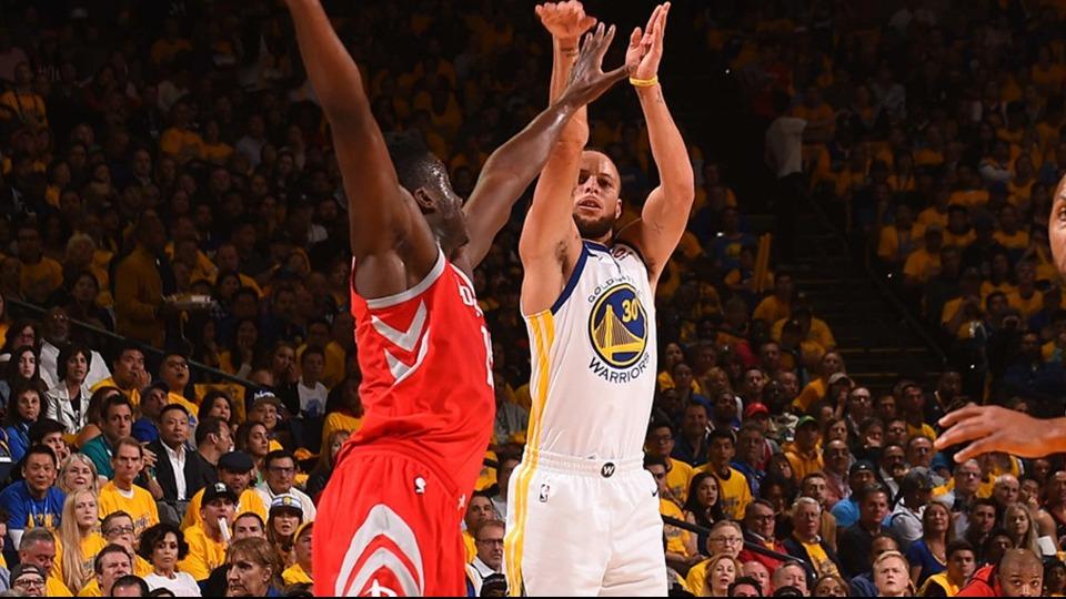 Warriors'tan Rockets'a tarihi fark!