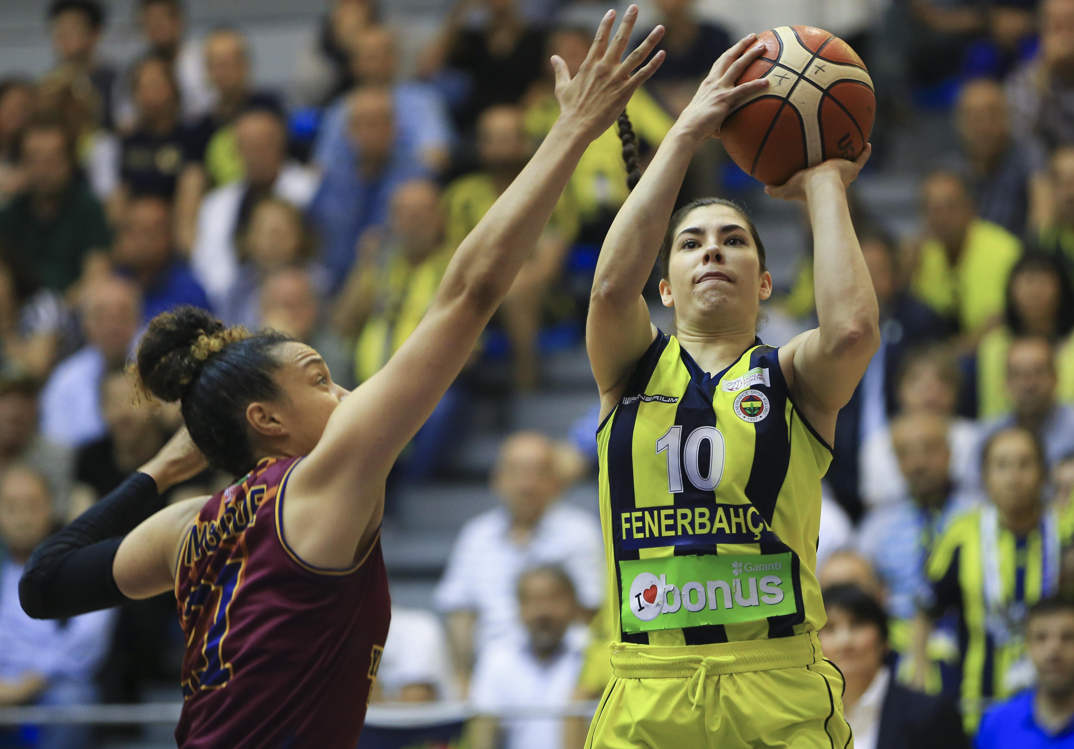 Kadınlar Basketbol Ligi'nde şampiyon Fenerbahçe!