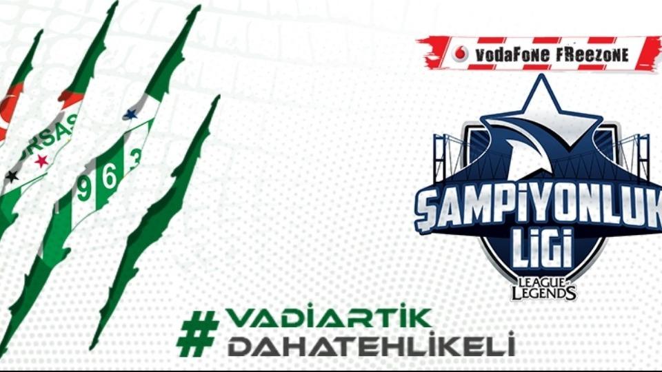 Bursaspor Şampiyonluk Ligi'nde