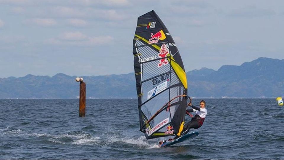 Rüzgar sörfünde dünya ikinciliği!