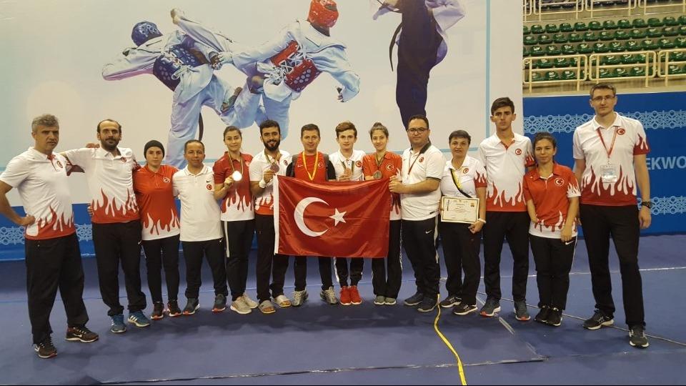 Para-Taekwondoculardan 4 madalya