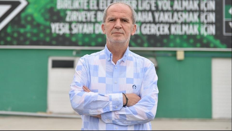 İsmail Gürses: 'Sakaryaspor örnek kulüplerden biri haline gelecek'