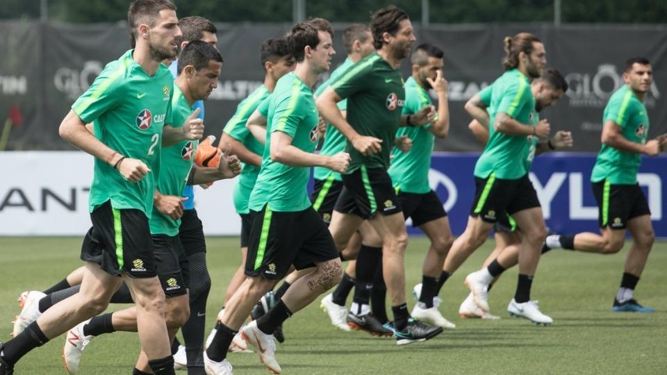 Avustralya, Dünya Kupası hazırlıklarını Antalya'da sürdürdü!