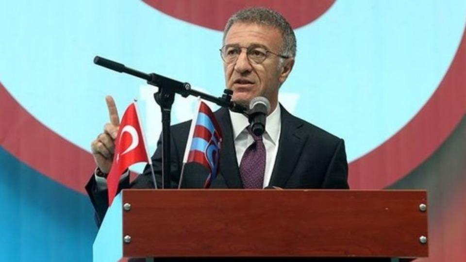 Trabzonspor Başkanı Ahmet Ağaoğlu basının karşısına çıkıyor