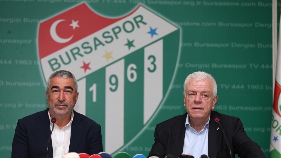 Bursaspor yeni teknik direktörü Samet Aybaba imza attı! İlk açıklamaları