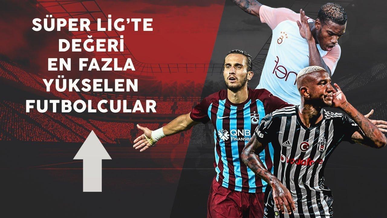 İşte Süper Lig'de market değeri yükselen yıldızlar! Talisca, Yusuf Yazıcı, Garry, Visca...