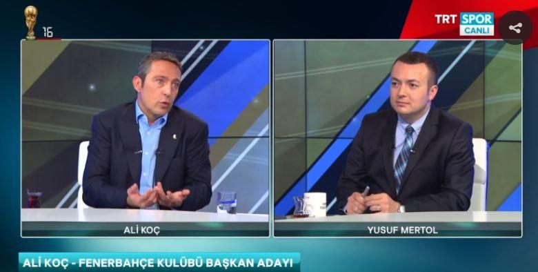 """""""Biz öyle bir platform yapacağız ki Linkedin benzeri bir platform olacak Fenerbahçeliler için"""""""