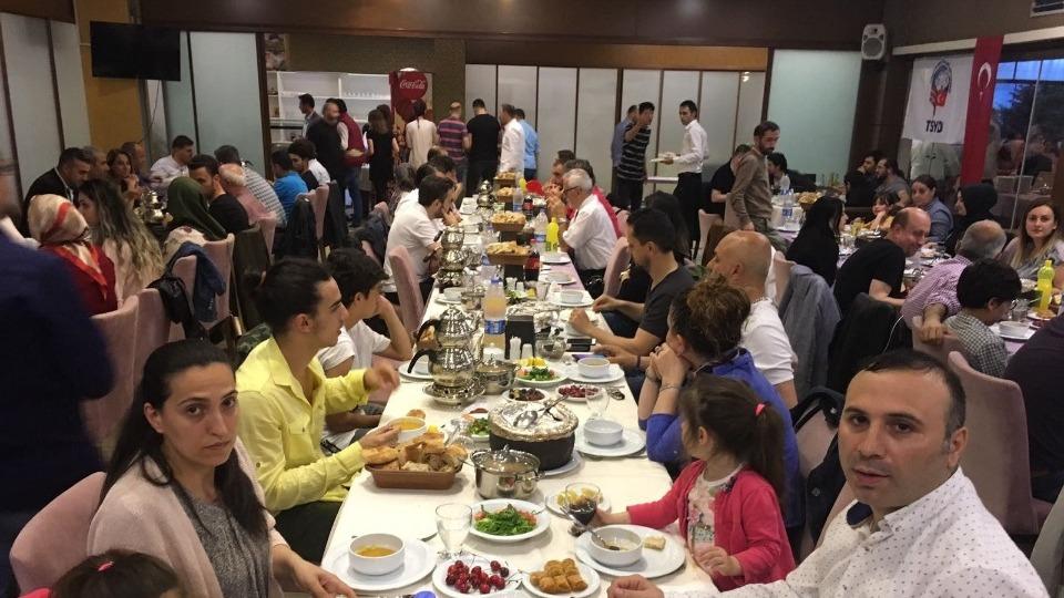 TSYD Trabzon Şubesi üyeleri iftarda buluştu