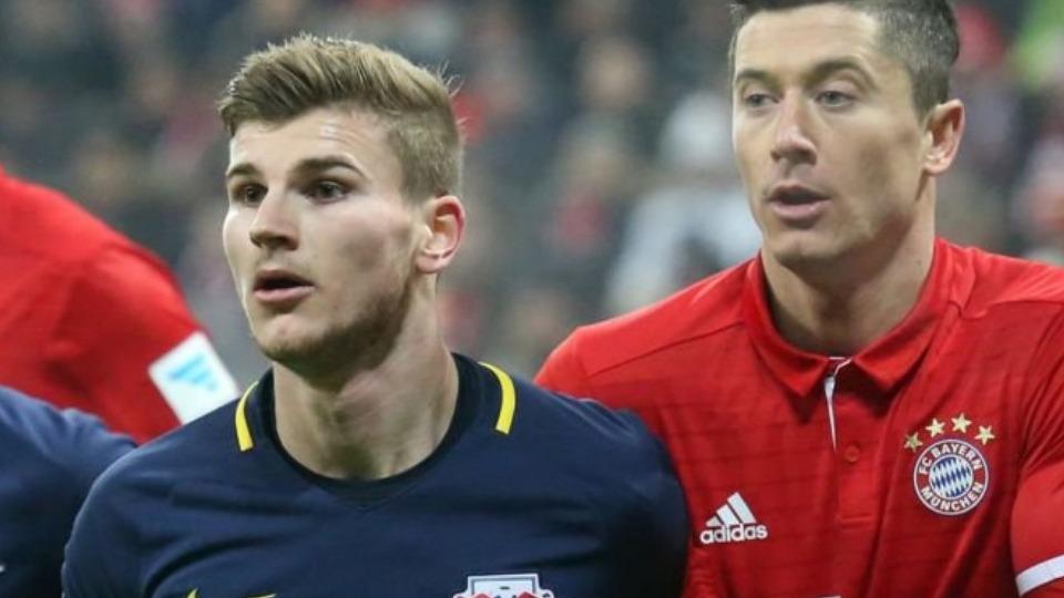 Lewandowski'nin yerine Timo Werner! Fiyatı dudak uçuklatıyor...