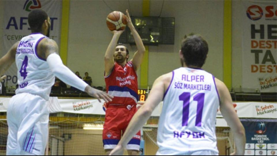 Afyon Belediye Tahincioğlu Basketbol Süper Ligi'ne yükseldi!