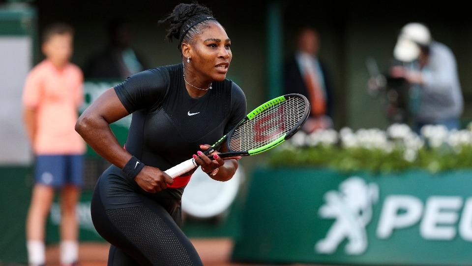 Serena Williams, Fransa Açık'tan çekildi