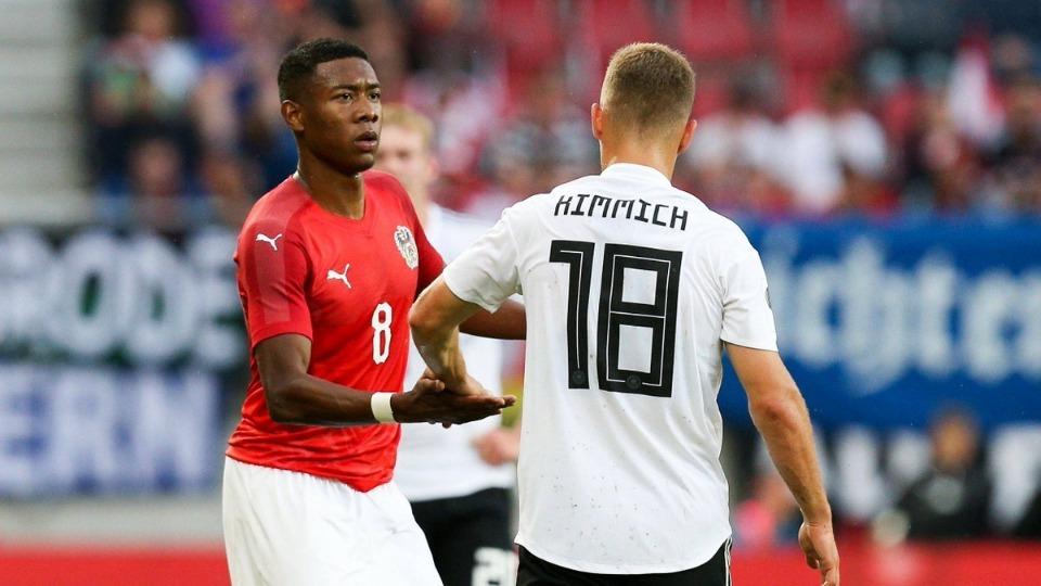 Avusturya hazırlık maçında Almanya'yı devirdi