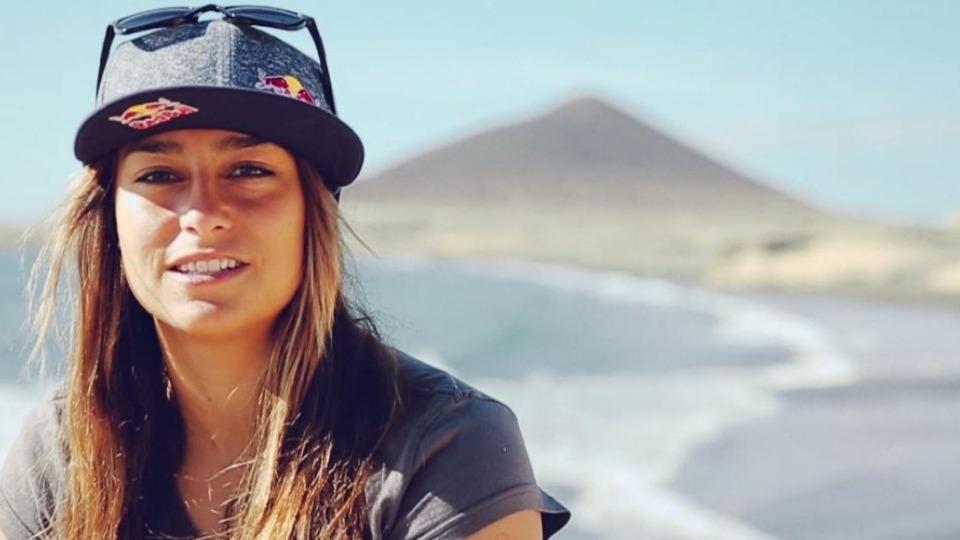 Lena Erdil rüzgar sörfünde üçüncü oldu