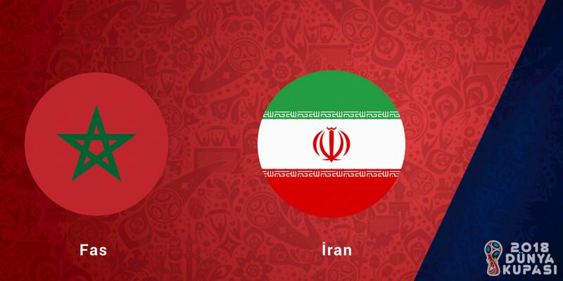 MAÇ NE ZAMAN? | Fas İran saat kaçta, hangi kanalda?