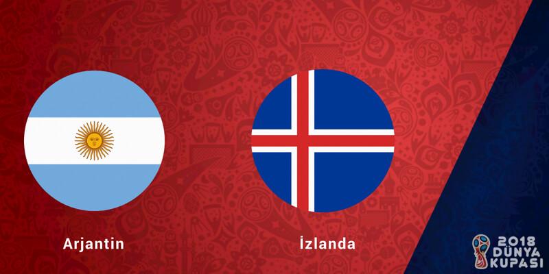 MAÇ NE ZAMAN? | Arjantin İzlanda maçı hangi kanada, saat kaçta?