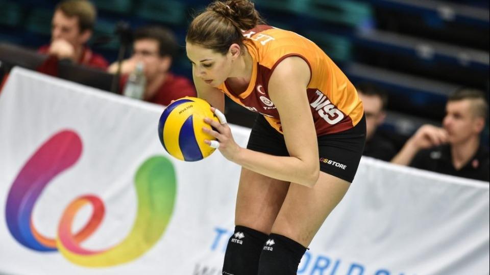 Galatasaray filede Charlotte Leys'i transfer etti