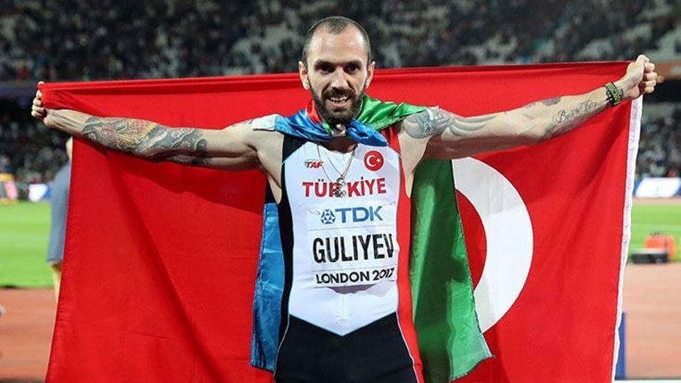 Ramil Guliyev'in hedefi 3 altın