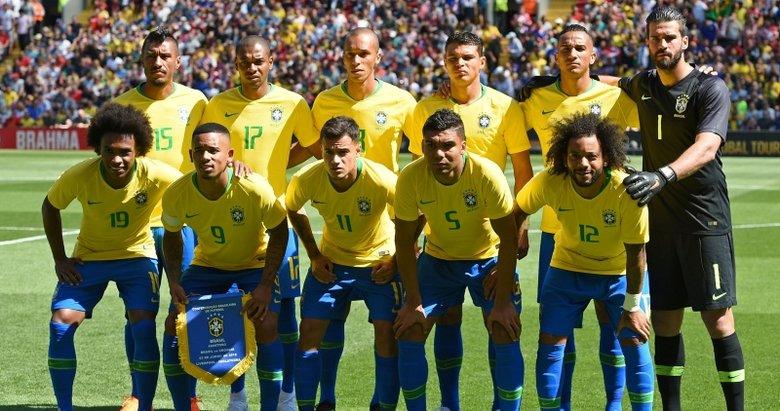 """Dünya Kupası yarı finalleri """"5 büyükler""""den yoksun"""