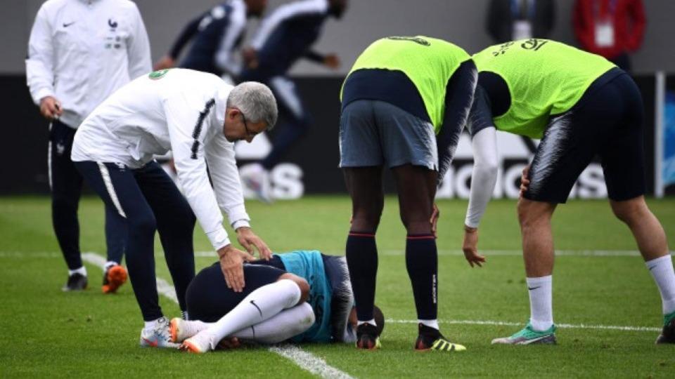 Mbappe sakatlığı hakkında açıklama yaptı