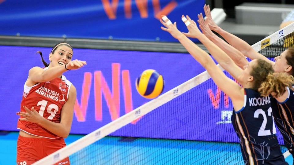 Özet - A Milli Kadın Takımı, Hollanda'ya 3-2 yenildi