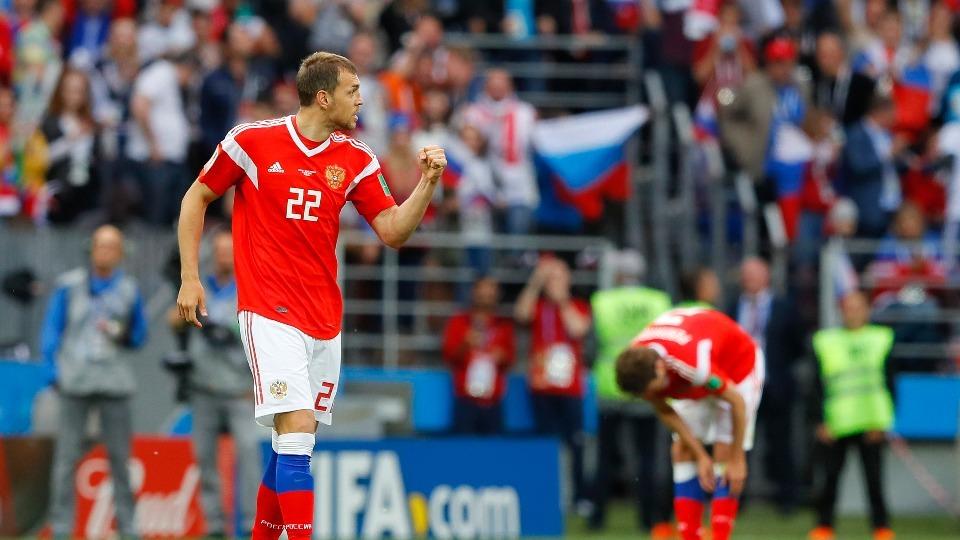 Dzyuba Dünya Kupası tarihine geçen oyuncular arasına girdi! Doğduğu şehir..