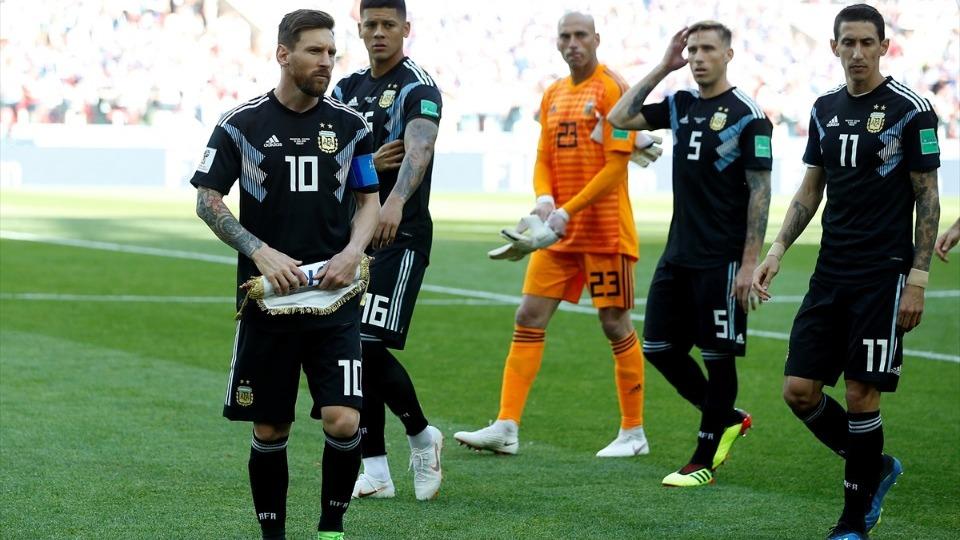 Moskova'da ilgi odağı Messi oldu!