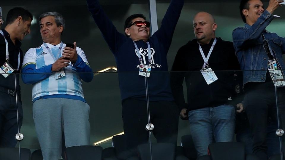 Maradona'dan özür mesajı: 'Bilmiyordum.'