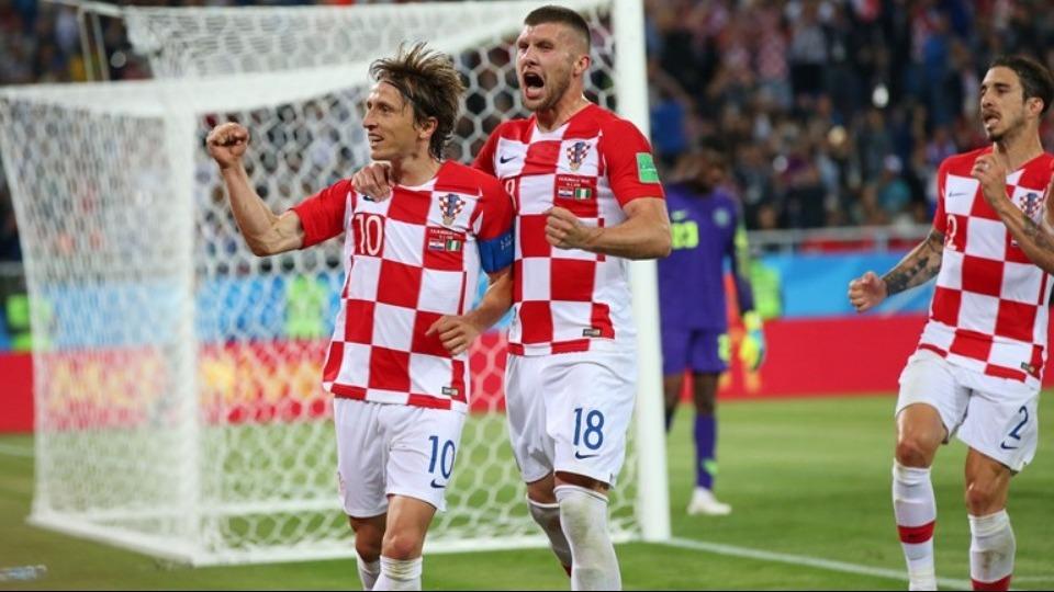 Luka Modric: Arjantin'e karşıda iyi oynayacağız