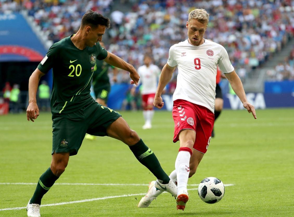 Danimarka'ya Avustralya freni: 1-1!