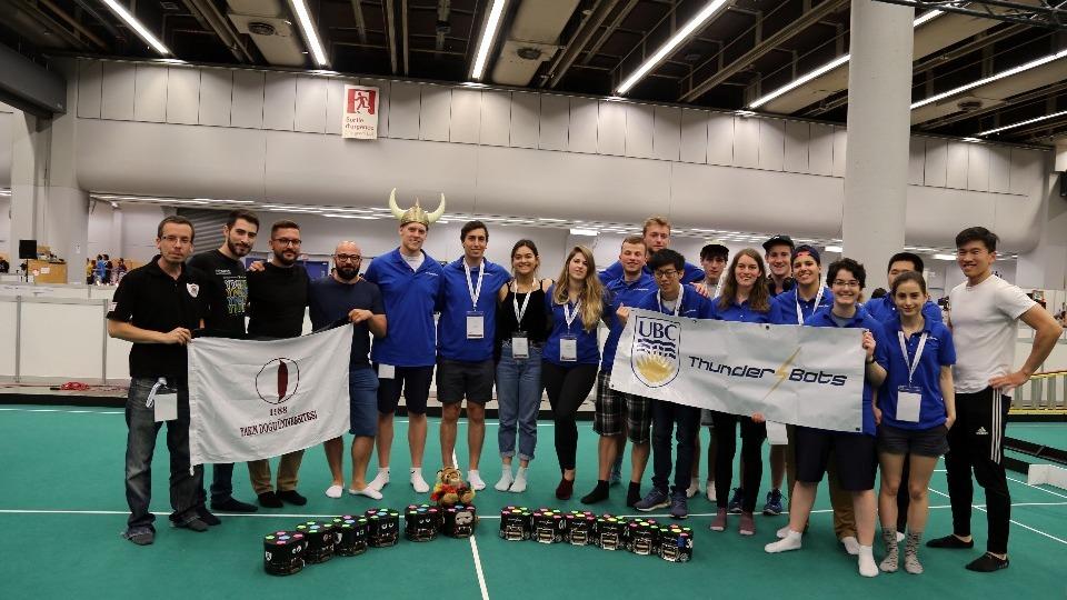 Yakın Doğu Üniversitesi, ROBOCUP 2018'de Dünya şampiyonu oldu