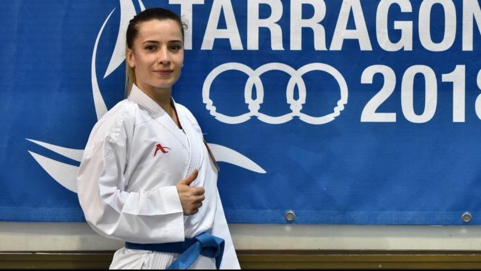 Serap Özçelik Arapoğlu'ndan bronz madalya!