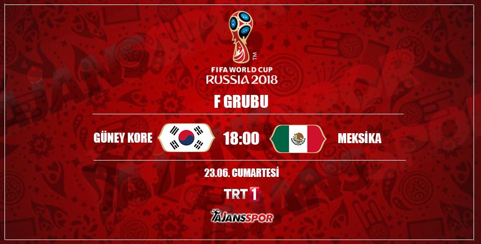 CANLI İZLE: Meksika - Güney Kore
