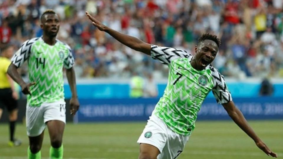 """""""Nijerya'nın bir üst tura çıkacağına inanıyorum"""""""