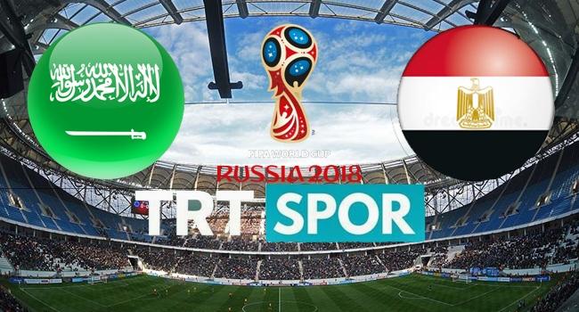 CANLI İZLE: Mısır - Suudi Arabistan