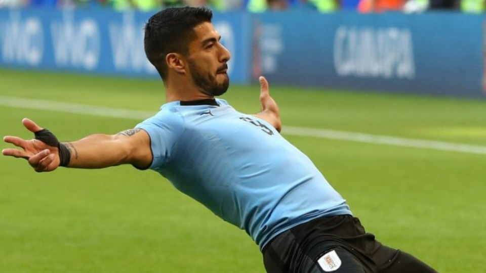Luis Suarez golü attı, tarihe geçti