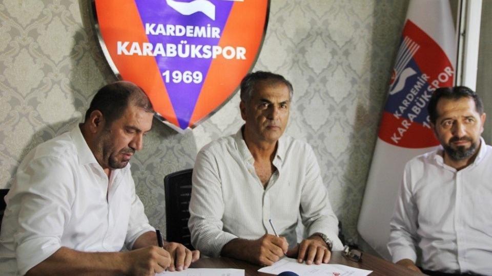 Kardemir Karabükspor'un yeni teknik direktörü belli oldu!
