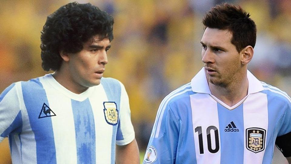 Messi, Maradona'yı geride bıraktı!