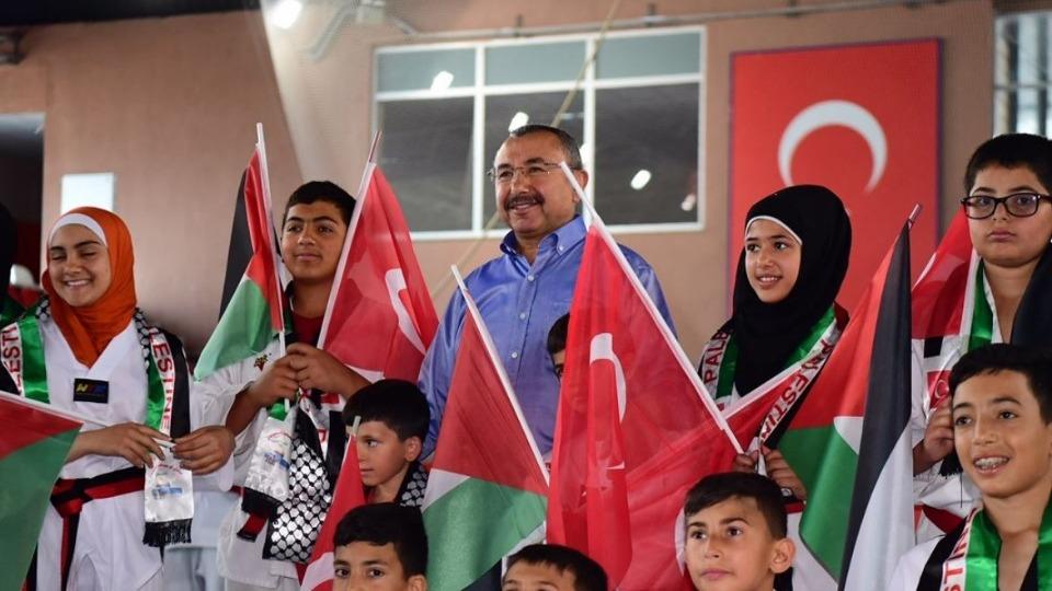 Sancaktepe Belediyesi, Filistinli tekvandocuları misafir etti