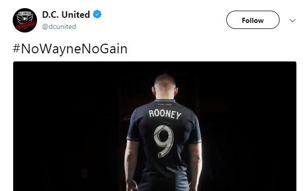 DC United Wayne Rooney'i resmen açıkladı