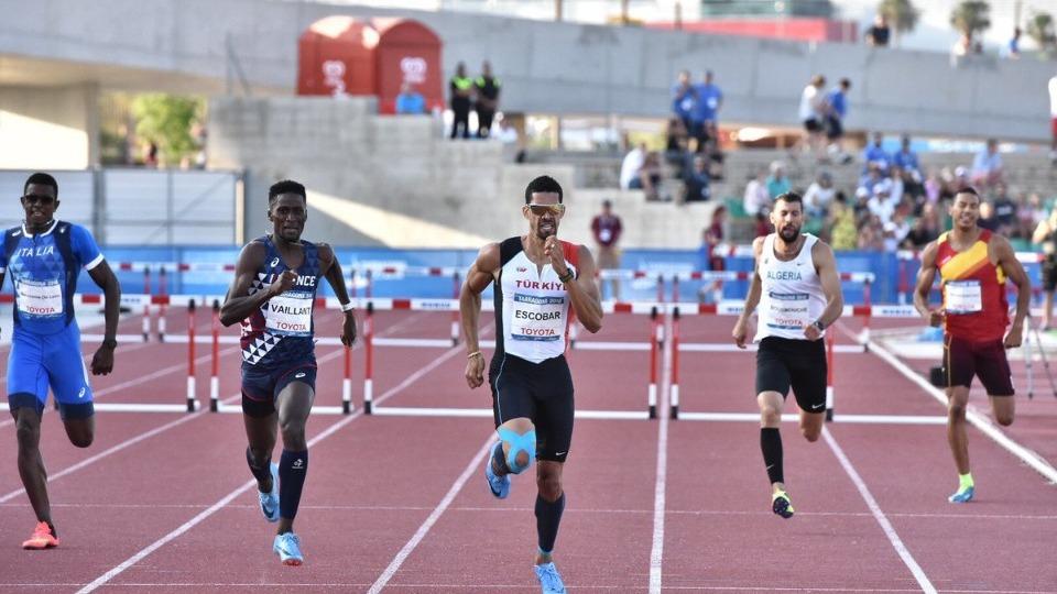 Yasmani Copello Escobar, Akdeniz Oyunları'nda ikinci oldu