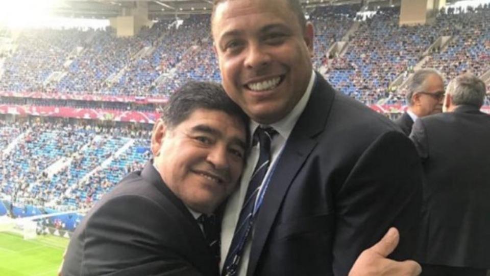 Maradona'dan Ronaldo'ya övgüler: 'Tarihin en iyisi olabilirdi'