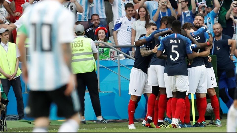 Fransa, Messi ve arkadaşlarını üzdü! 7 gollü maç...