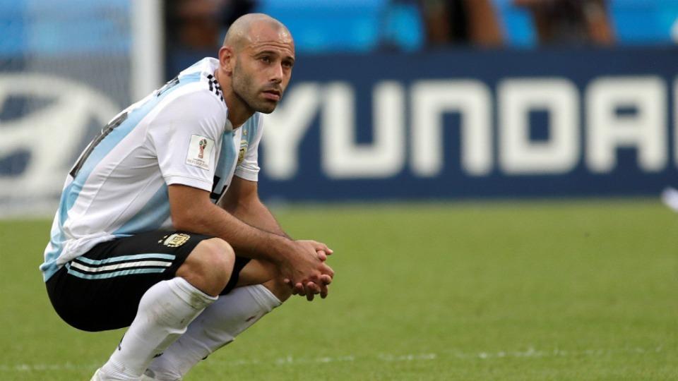 Mascherano, Arjantin Milli Takımı'nı bıraktığını açıkladı!